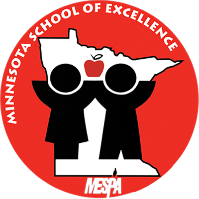 Named a School of Excellence by the Minnesota Elementary School Principals' Association