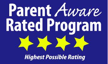 Parent Aware logo with 4 star rating